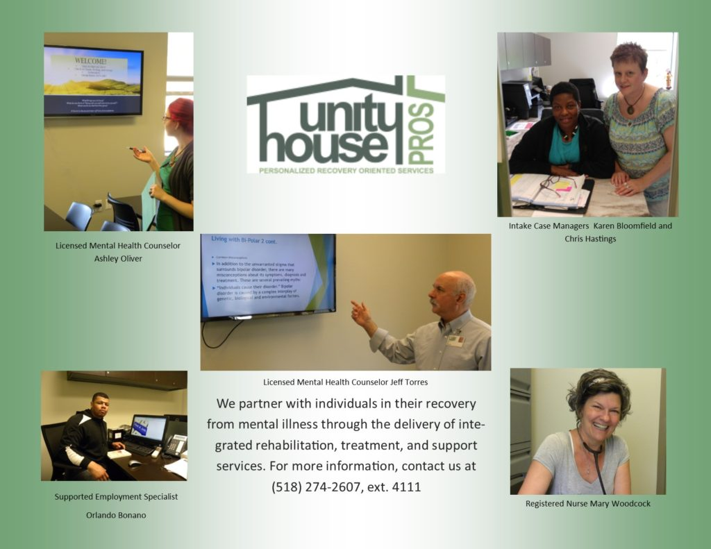 Unity House PROS Collage 2