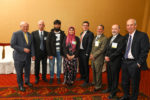 From left: Congressman Paul Tonko, Rev. Bill Minchin of Grace Fellowship, Saad Khan and Uzma Popal of the Muslim Soup Kitchen Project, Brad Shear of the MHHS, Unity House Board President Dr. Jim Slavin, Troy Mayor Patrick Madden, and Unity House's Chris Burke.